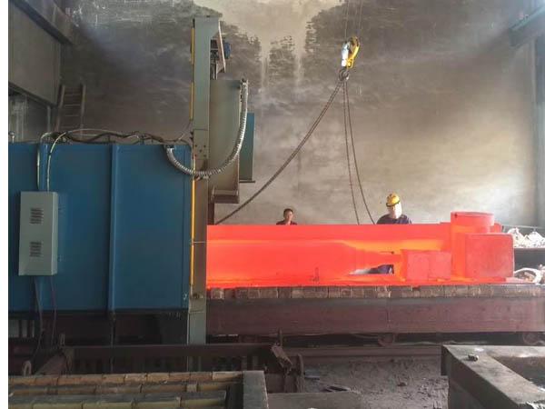 300KW台车式淬火炉
