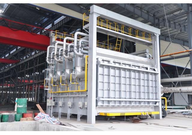 台车式燃气蓄热式热处理炉